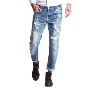Levi's Jeans - Vintage Levi's High Waist Orange Tab Re/Done